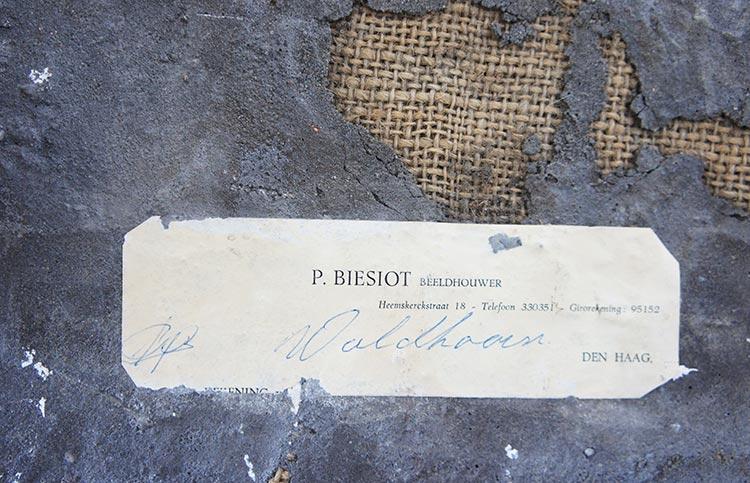 P. Biesiot Beeldhouwer Artimero